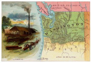 Washington Postcard, 1889.