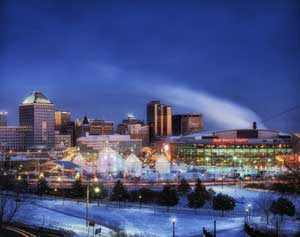 Winter festival in St. Paul, Minnesota by Carol Highsmith.