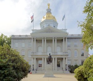The state capitol in Concord, New Hampshire by Carol Highsmith.