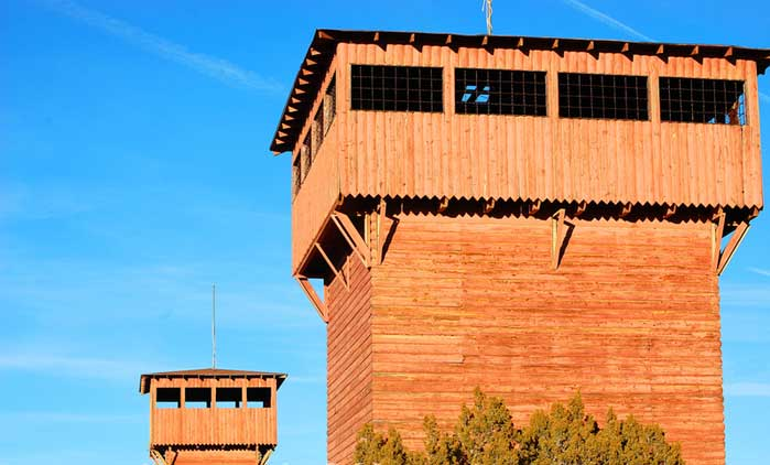 Fort Courage AZ Towers
