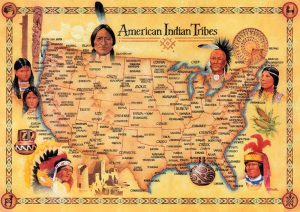 American Indian Tribes Poster