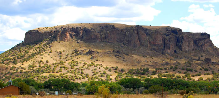 Black Mesa, New Mexico by Kathy Weiser-Alexander.