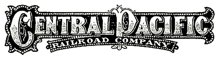 Central Pacific Railroad Logo