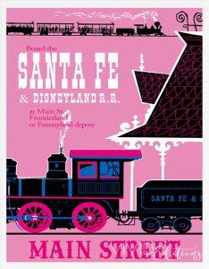 Santa Fe Disneyland Railroad