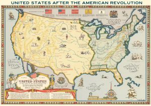 The United States after the American Revolution by Linweave Paper Company, 1957.