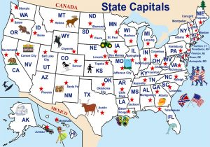 State Capitals in the United States by Legends of Americ