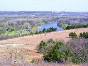Big Blue River south of Tuttle Creek Lake courtesy Wikipedia