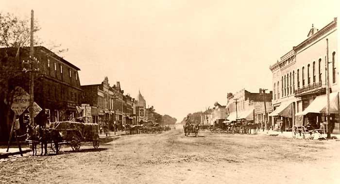 Council Grove, Kansas about 1885