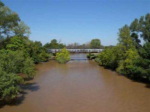 Medicine Lodge River in Kansas.