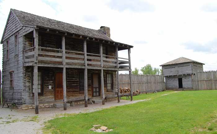 Fort Osage, Sibley, Missouri
