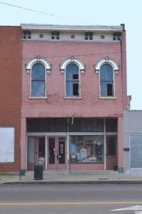Historic brothel building at 217 West Main in Sedalia, Missouri courtesy Wikipedia.