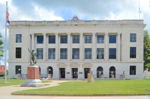 Pettis County Courthouse in Sedalia, Kansas by Kathy Weiser-Alexander.