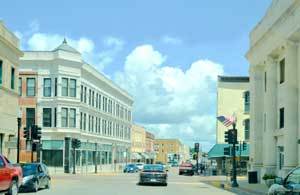Ohio Street in downtown Sedalia, Missouri by Kathy Weiser-Alexander.