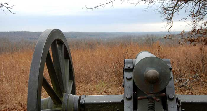 Cannon at Wilson's Creek Missouri National Battlefield