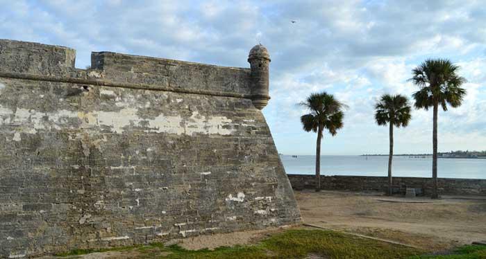 Castillo de San Marcos Outer Wall