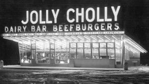 Jolly Cholly Beef Burgers courtesy Sun Chronicle.