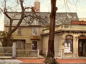 Salem, Massachusetts Witch House by Detroit Publishing, 1901.