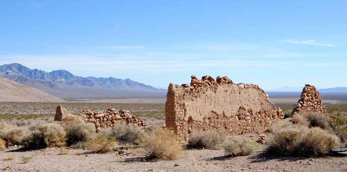 Bullfrog Nevada Ruins