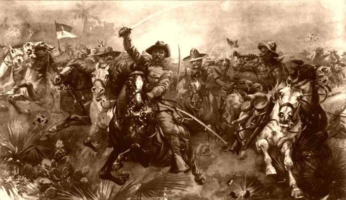 Teddy Roosevelt's Rough Riders.