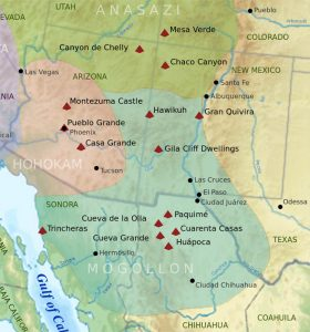 Ancient Regions in the Southwest.