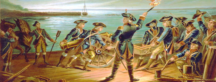 Continental Army at Long Island, Ney York in 1776 by Werner Co.