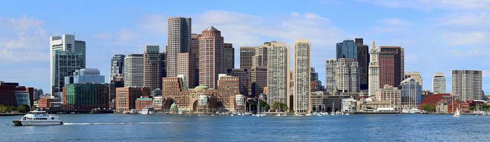 Boston, Massachusetts courtesy Wikipedia.