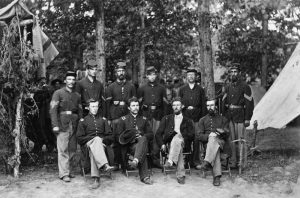 Commissioned officers in the Civil War.