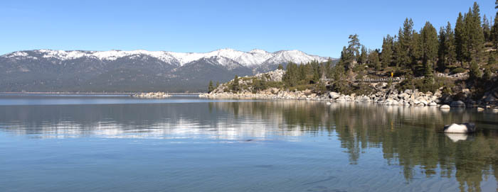 Lake Tahoe, California by Carol Highsmith.