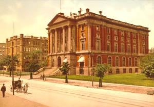 Massachusetts Institute of Technology, Boston, Massachusetts by Detroit Publishing, 1901.