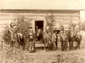 Mohawk Indians, W.S. Tanner, 1894.