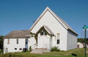 An old church in Montserrat, Missouri by Kathy Weiser-Alexander.