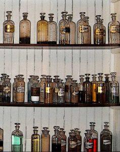 Old fashioned medicines & tonics.