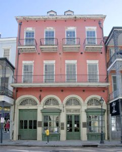 New Orleans Pharmacy Museum by John Riley, courtesy Historic New Orleans Collection.