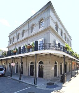 LaLaurie Mansion in New Orleans, Louisiana today courtesy Google Maps.