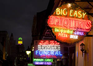New Orleans at night by Carol Highsmith.