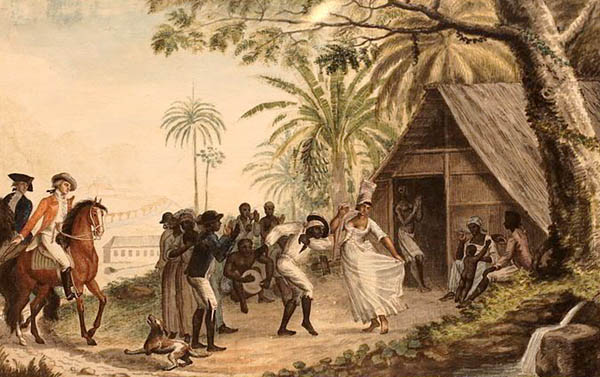 Voodoo Dance in New Orleans, Louisiana.