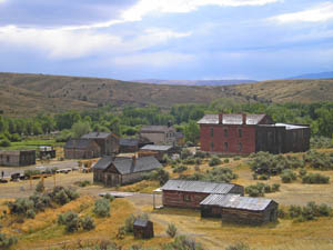 Bannack, Montana Town View by Kathy Weiser-Alexander.