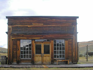 Cy Skinner's Saloon, Bannack Montana