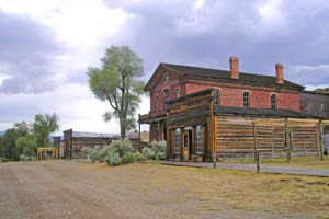 Bannack, Montana Street today by Kathy Weiser-Alexander.