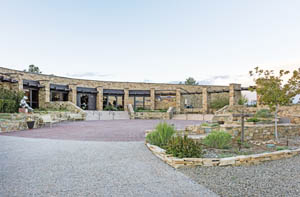 The Anasazi Heritage Center -- a museum of the Ancestral Puebloan Culture at the Canyons of the Ancients National Monument. Photo by Carol Highsmith.