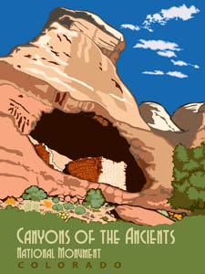 Saddlehorn Pueblo at the Canyon of the Ancients