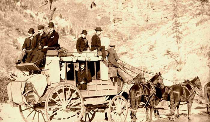 Deadwood, South Dakota Stage Coach, by John C. H. Grabill, 1889