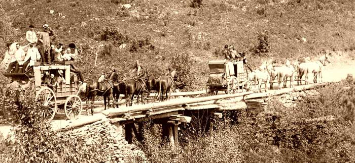Deadwood Stage Coach 1889