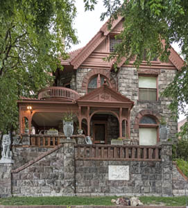 The Molly Brown House Museum in Denver, Colorado. Photo by Carol Highsmith.