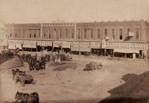 Historic Gainsville, Texas.