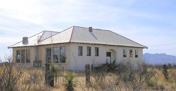 Old School in Hachita, NM