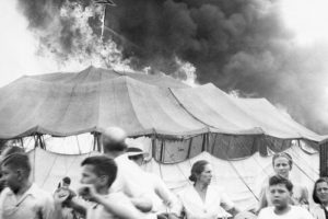 Circus Fire in Hartford, Connecticut.