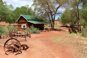 Lonely Dell Ranch, Lees Ferry, Arizona by the National Park Service.