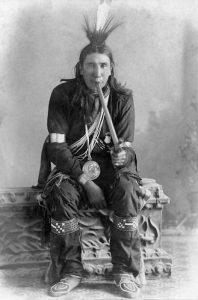 Quapaw Tall Chief, 1892