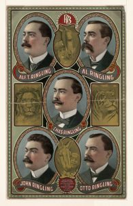 Ringling Brothers by Courier Litho Company, 1903